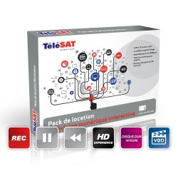Pack de location Télésat - Motionbox HD